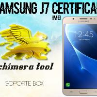 Samsung J700M Certificado imei