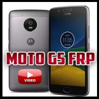 Eliminar cuenta google FRP moto g5 xt1670
