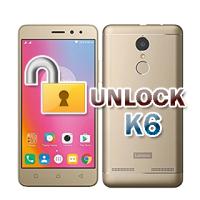 Unlock Lenovo k6 k33b36